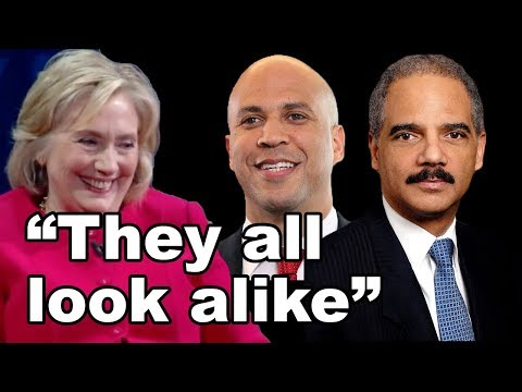 "Hillary Clinton: Black People ""All look alike"" #racism #clinton #DNC #wth"