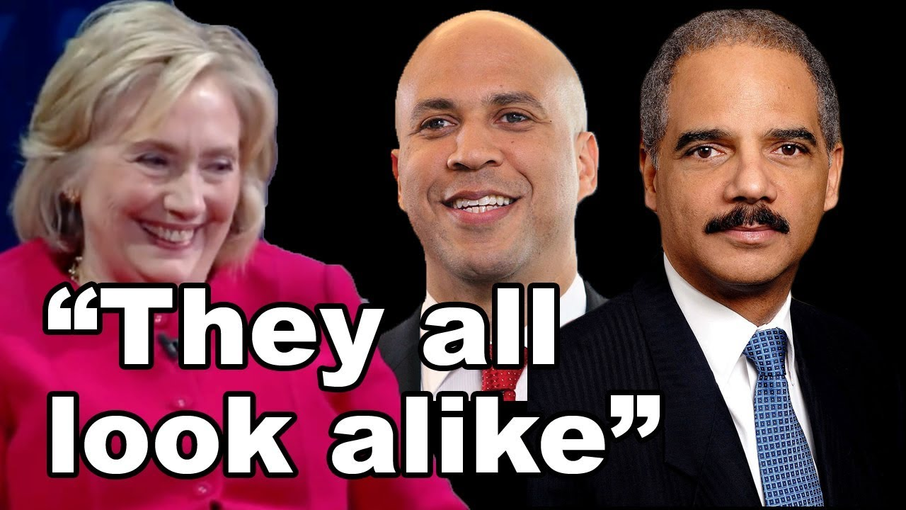 Image result for hillary all black people look alike