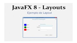 JavaFX 8 Tutorial - Ejemplo de Layouts #13 Español