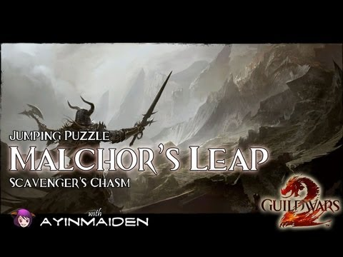 ★ Guild Wars 2 ★ - Jumping Puzzle - Malchor's Leap (Scavenger's Chasm) + Orb Locations