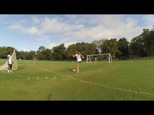 Pro Soccer Shooting Drills with Alex Morgan