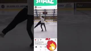 Ольга Бузова парное катание на льду