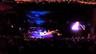 Neil Young Performing a Brand New Song at Red Rocks