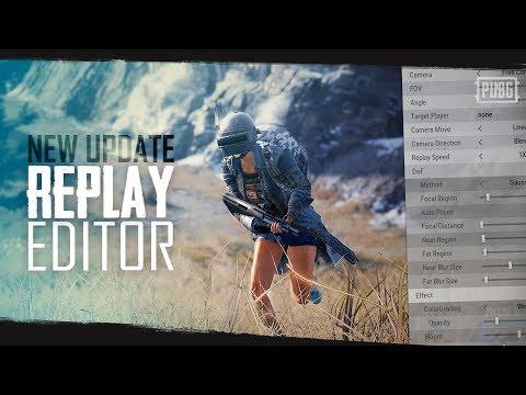 PUBG - New Update - Replay Editor