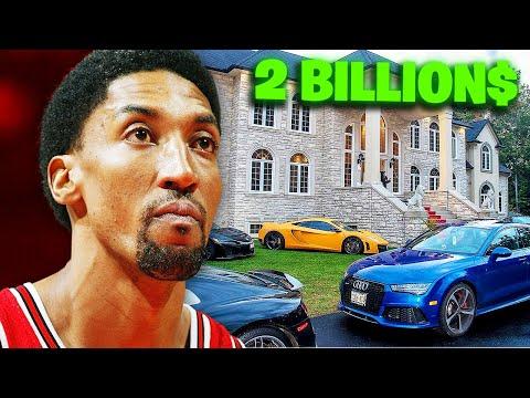 How Scottie Pippen Spends His Millions