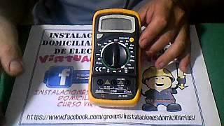 CURSO DE ELECTRICIDAD - HERRAMIENTAS DE MEDICIÓN - VIDEO 01