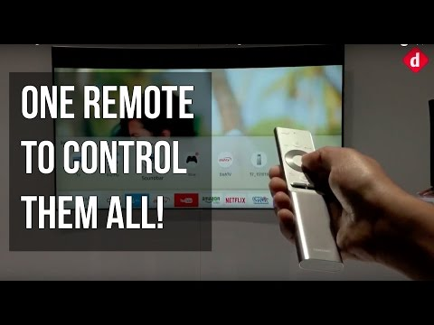 Samsung QLED TV & One Remote Control Demo & First Look | Digit in