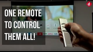 Samsung QLED TV & One Remote Control Demo & First Look | Digit.in