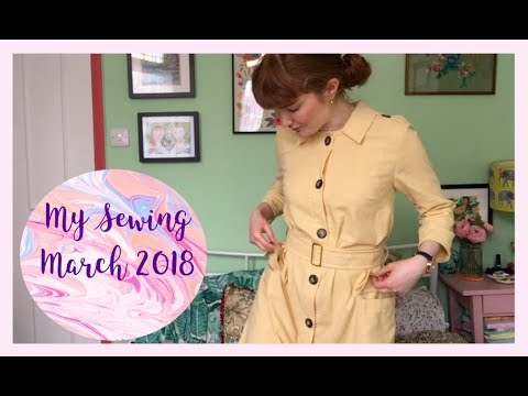 My Sewing: March 2018