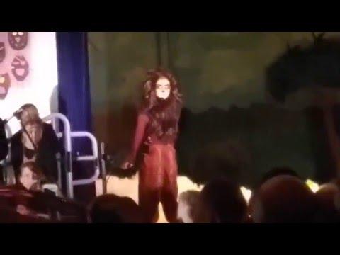 Claudia Urday|Lion King|Norma Butler Bossard Elementary School Kendall Florida.