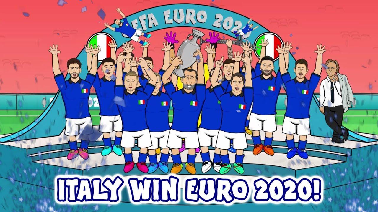 🏆Italy Win Euro 2020!🏆 (Italy vs England Final Penalty Shootout Penalties 3-2 1-1 Highlights)
