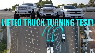 DO LIFTED TRUCKS REALLY HAVE BAD TURNING?!