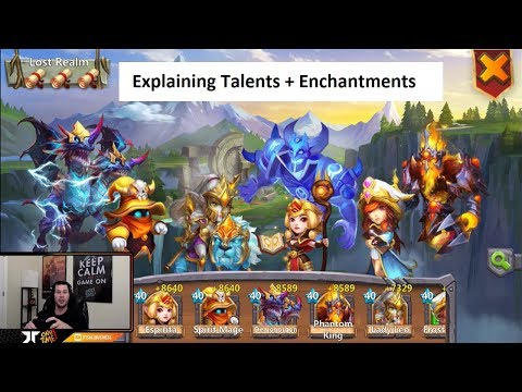 Talents For Espirita Demogorgon Spirit Mage Phantom King Lady Leo Castle Clash