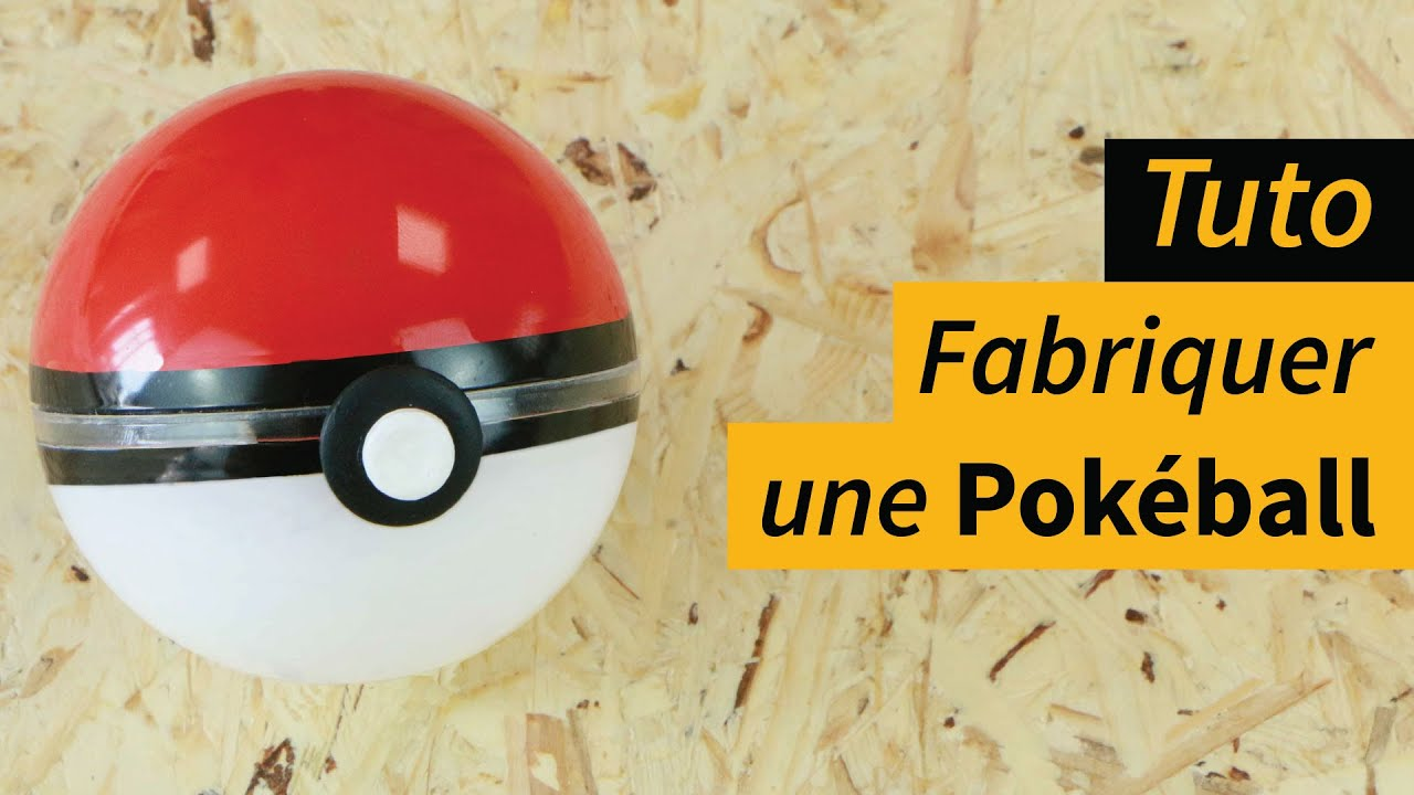 comment fabriquer facilement une pokeball manomano youtube. Black Bedroom Furniture Sets. Home Design Ideas