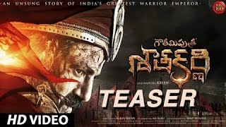 Gautamiputra Satakarni Official Teaser ✯ Nandamuri Balakrishna - #NBK100 || A film by Krish