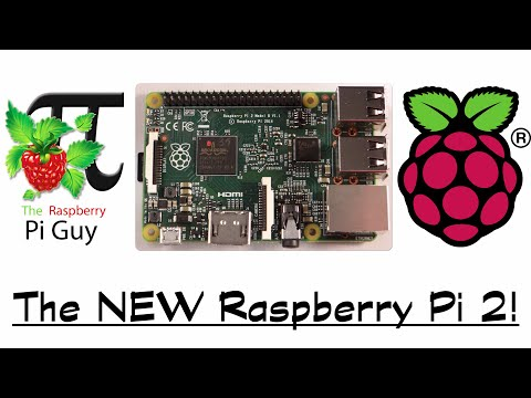 NEW Raspberry Pi 2 - Quad-Core 900MHz, 1GB RAM