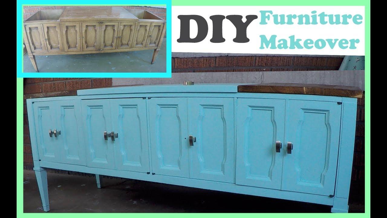 Diy Old Furniture Makeover Youtube