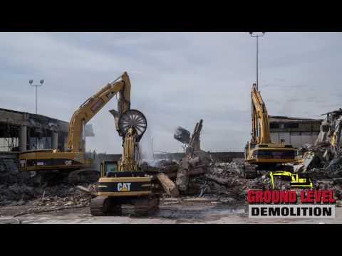 Sky Harbor Airport Demolition