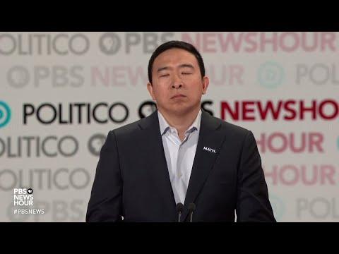 WATCH: Andrew Yang's Closing Statement | Sixth Democratic Debate