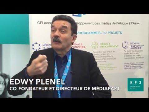 Interview Edwy Plenel #4MParis