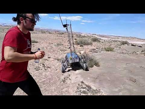 ITU Rover Team / Autonomous Traversal Task / URC 2017