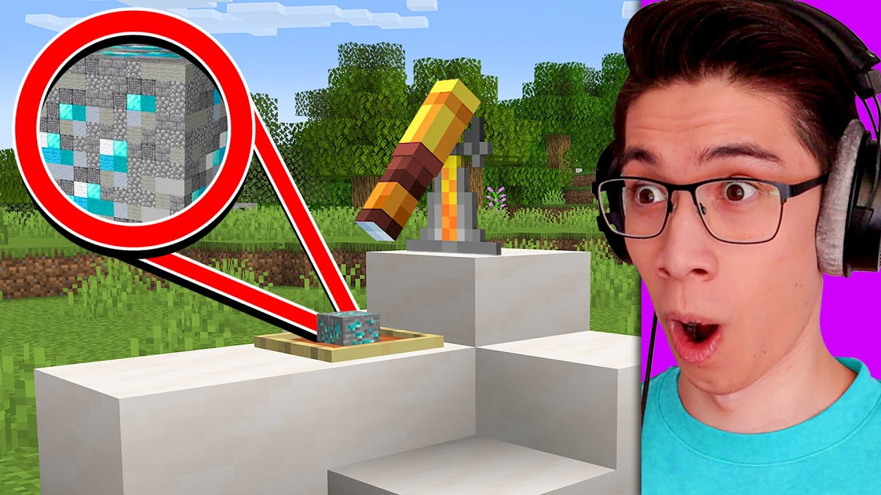 Testing Big Brain Minecraft Hacks That Are 100% Real