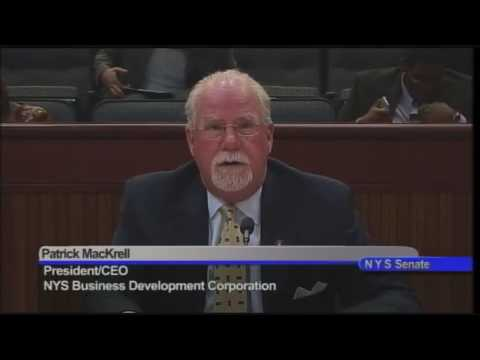 NYS Senate Committee on Banks - 6/1/16