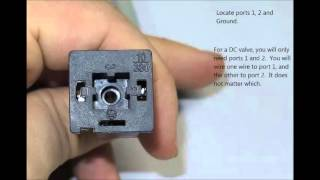 Solenoid Wiring Instructions - YouTube | Hydraulic Solenoid Valve Wiring Diagram |  | YouTube