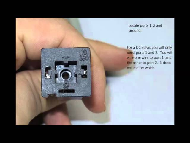 solenoid wiring instructions  youtube