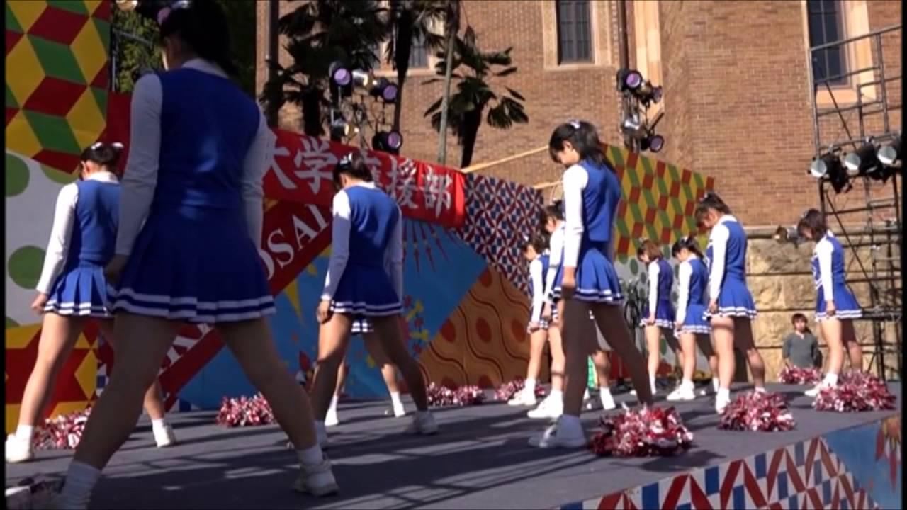 2015 一橋祭ステージ 3年チアオリジナル - YouTube