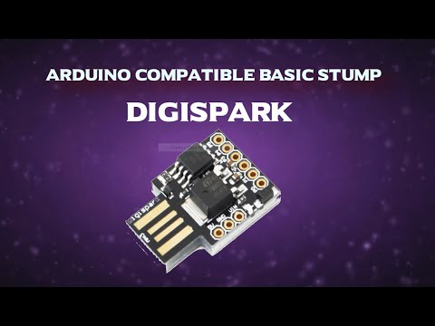 How To Use Digispark ATtiny85 (smallest Arduino Compatible Board)