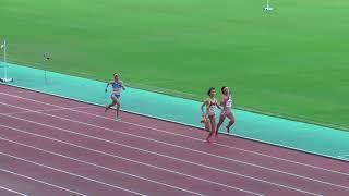 2017年度 近畿陸上選手権 女子マイルリレー決勝