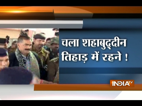 Mohd Shahabuddin brought to Delhi for being shifted to Tihar Jail from Bihar's Siwan Jail