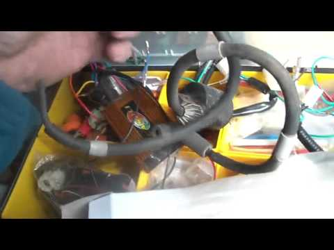 Hot wiring a China Quad, 1 wire to cut on CDI harness, - YouTube on