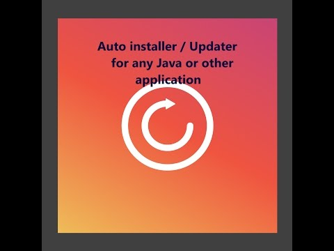 Auto Updater/Installer Tutorial for any Java Application - Part 2