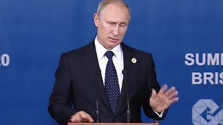 Putin on leaving G20 early: Long way home, Monday is working day