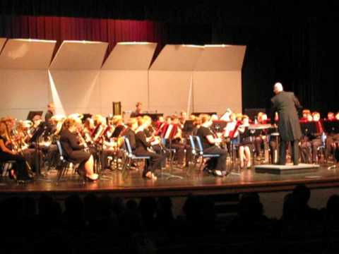 2012 Holiday Concert  Symphonic Band - The Christmas Song