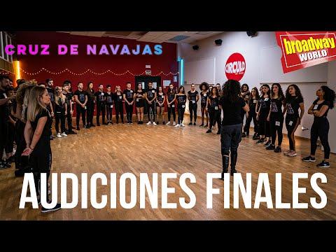 CRUZ DE NAVAJAS - Audiciones Finales En Madrid
