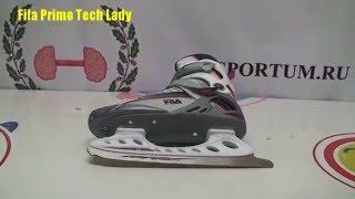 Обзор женских прогулочных коньков Fila Primo Tech Lady / Review ice skates Fila Primo Tech Lady
