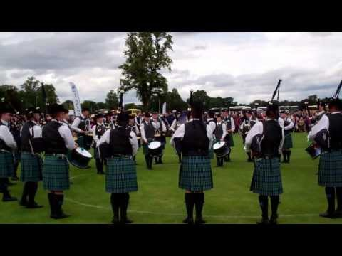 Inveraray Pipe Band Scottish Highland Games Perth Perthshire Scotland