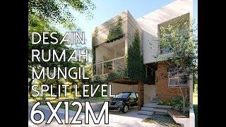 Download Lagu Rumah Mungil dengan split level dan void - Lahan 6x12m2 [kode 163] mp3