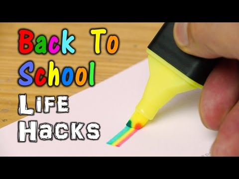 Thumbnail: Back To School Life Hacks
