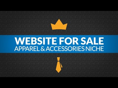 Website For Sale – $6.6K/Month in Apparel & Accessories Niche