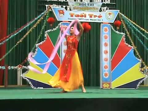 Lục Ngạn 1 Miss Bảo Ngọc a2 Múa Lụa