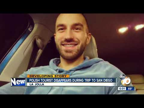 Polish tourist disappears during trip to San Diego