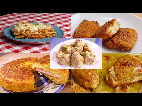 Recetas de cocina - 13 comidas FACILES RAPIDAS Y ECONOMICAS