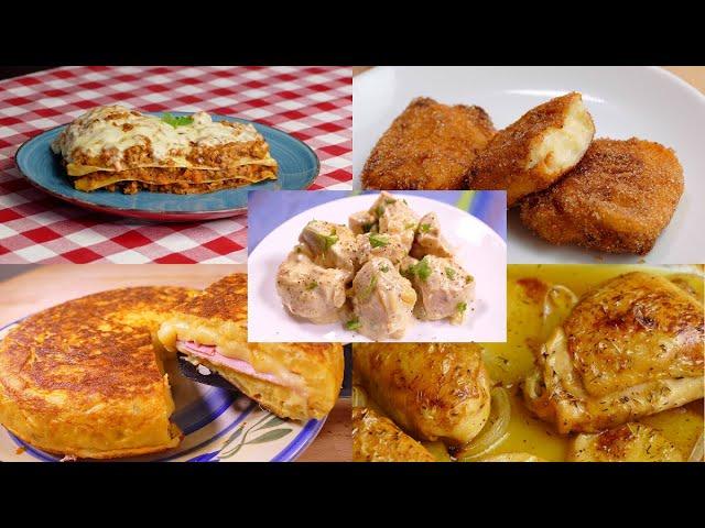 13 Recetas De Cocina Faciles Rapidas Y Economicas Youtube