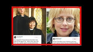 Emma Chambers death – Dawn French and Hugh Grant lead tributes to Vicar of Dibley and Notting Hill