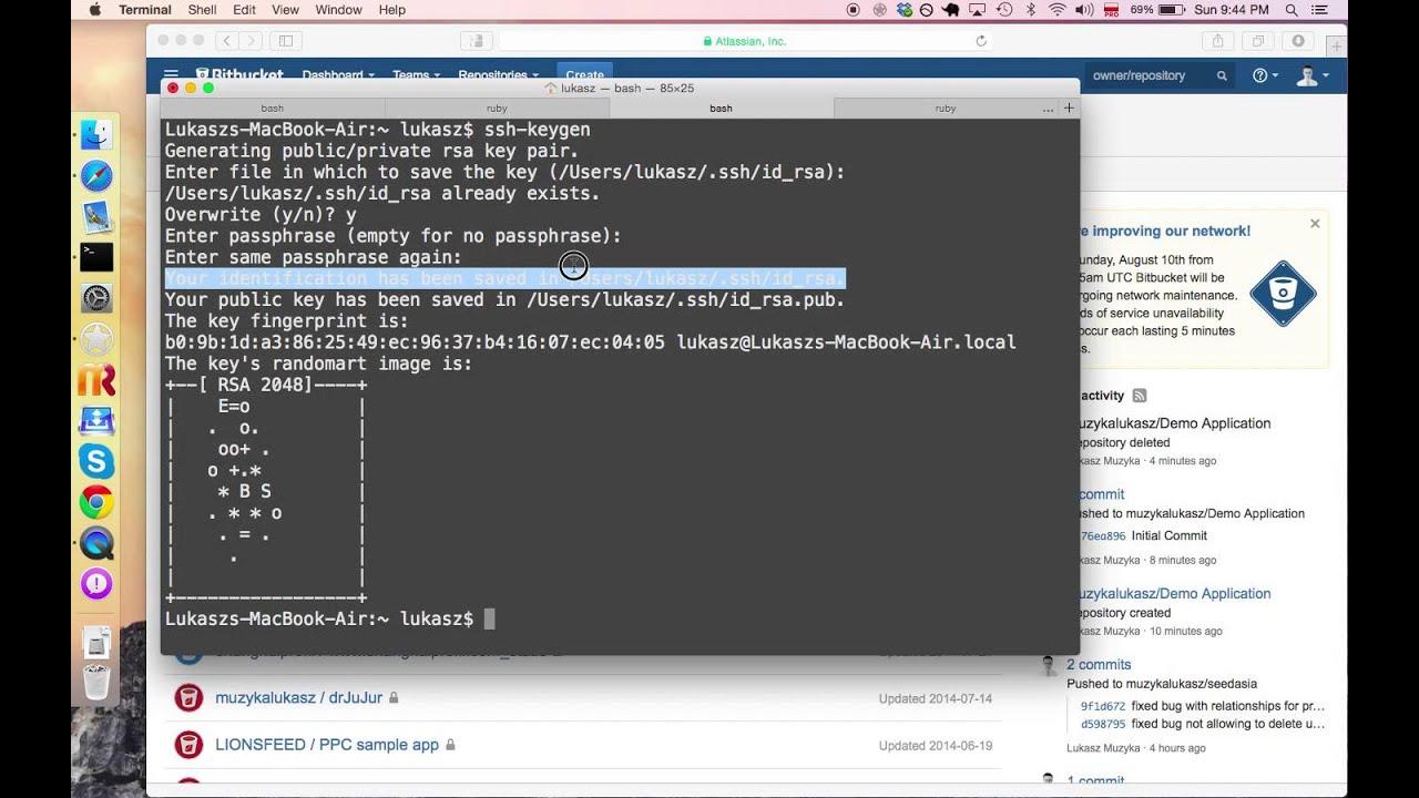 remove ssh keys mac os x