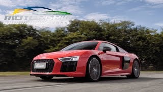 Audi R8 V10 Plus: O mais potente da história no Motorgrid On Track